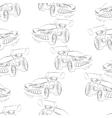 sports car vector image vector image