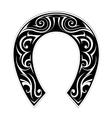 Horseshoe shape vector image