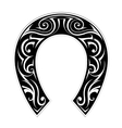 Horseshoe shape vector image