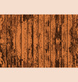 texture of realistic bright brown old painted vector image