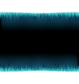 Blue sound wave on white  EPS10 vector image vector image