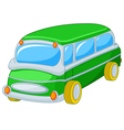 Toy Bus vector image