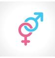 men women symbol vector image