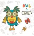 Owl is cute vector image
