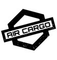 air cargo rubber stamp vector image