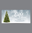 christmas sale banner background business vector image