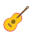 isolated guitar icon vector image