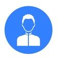 Boy icon black Single avatarpeaople icon from vector image