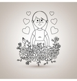 mother figure design vector image
