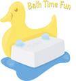 Bath Time Fun vector image