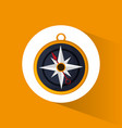 compass location navigation icon vector image