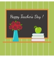 Holiday Teachers Day in the Classroom vector image