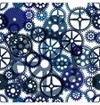 Seamless clockwork background Eps8 image vector image vector image