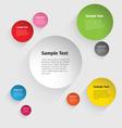Color Circle Design vector image vector image