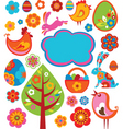 Easter graphics vector image vector image