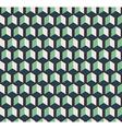 Dark cubes seamless pattern vector image