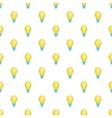 Bulb pattern cartoon style vector image