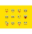 Emoji set vector image