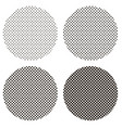 circle dots pattern pop art vector image