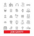 Job safety assurance immunity security vector image