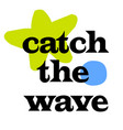 catch the wave vector image