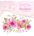 Luxurious color peony vector image