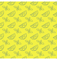 Seamless pattern of lemon and mint vector image