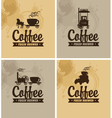 cafe on wheels vector image