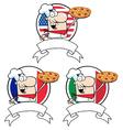 Chef cartoon vector image