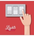light switch design vector image