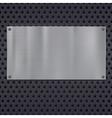 Metallic stars texture pattern vector image
