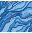 ornament sea waveHand draw vector image