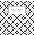 grid seamless geometric pattern vector image