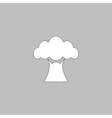 Baobab computer symbol vector image