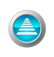 crosswalk button vector image