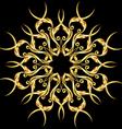 Golden element vector image