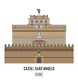 Castel SantAngelo vector image vector image