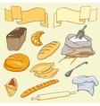 Bread theme vector image