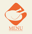 food menu design vector image
