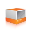 Software Package Box vector image