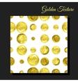 Golden glitter seamless background vector image