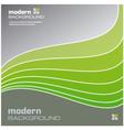 green modern background vector image