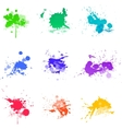 Paint splat ink vector image