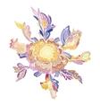 Creative Floral Vignette vector image