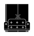 living room sofa wardrobe icon vector image
