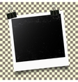Photo frame template vector image