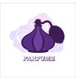 Perfume logo design template vector image