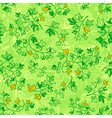 ivy leaves seamless pattern vector image vector image