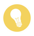 electricity bulb light energy power icon vector image