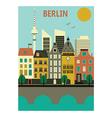 Berlin city vector image vector image